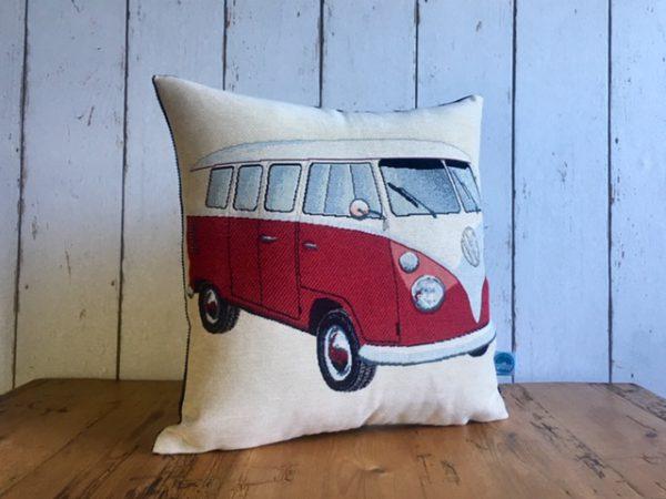 Kissen Seegras Kapok VW-Bus