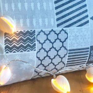 Kissen Kapok Seegras Weihnachten