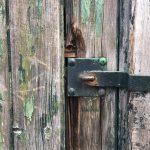 Shabby chic Tür