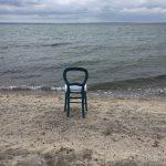 Stuhl Meer Strand Seegras